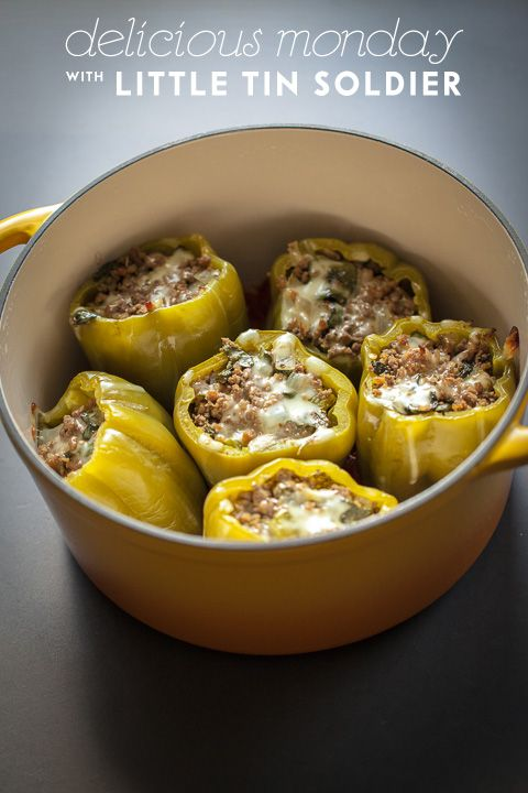 This will be in my belly! venison stuffed peppers. #headsofstate #venison #stuffedpepper