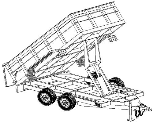 best 25  dump trailers ideas on pinterest