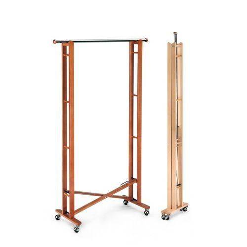 Garment Rack - Aris Better Living Garments Rack Beech Wood Folding Clothes Rack 2777
