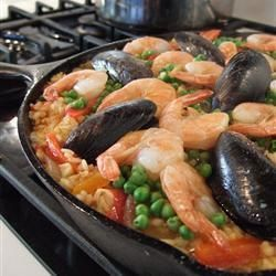 Traditionele paella @ allrecipes.nl