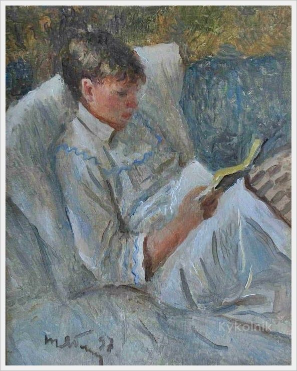 Tatiana Yablonskaya Grand Son Reading 1997