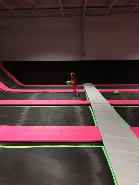 Jumping around at Flying Squirrel | Kids in the Capital | Ottawa Activities