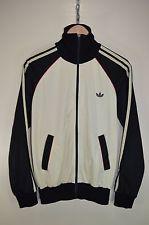 Винтажный 70s adidas старая приватизировать повседневный ретромультяшная спортивная куртка спортивный костюм топ, размер средний