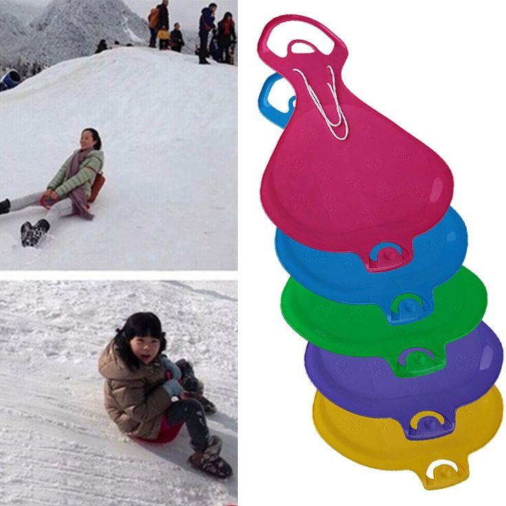 Anak/Dewasa Musim Dingin Salju Papan Ski Rumput Tali Terhubung Pad Kereta Luncur Snowboard