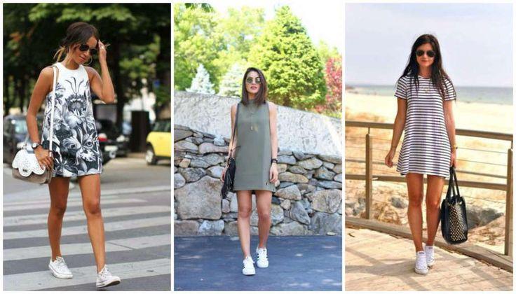 Consejos para usar vestido con tenis holgado-h600