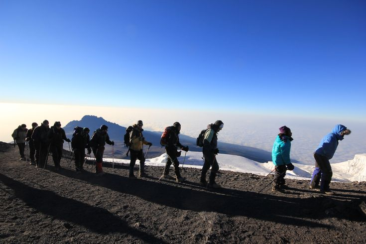 One of the marvellous wonders of the world, #MtKilimanjaroTrek seems similar to taking a walk from the equator to the North Pole.