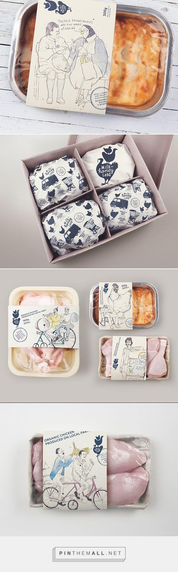 Milk & Honey Land. #Packaging. Entre en el fantástico mundo de elcafeatomico.com para descubrir muchas más cosas!