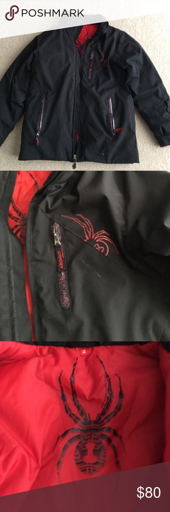 Spyder Boys Winter Coat- Size 12 Great Shape worn one season Spyder Jackets & Coats Puffers