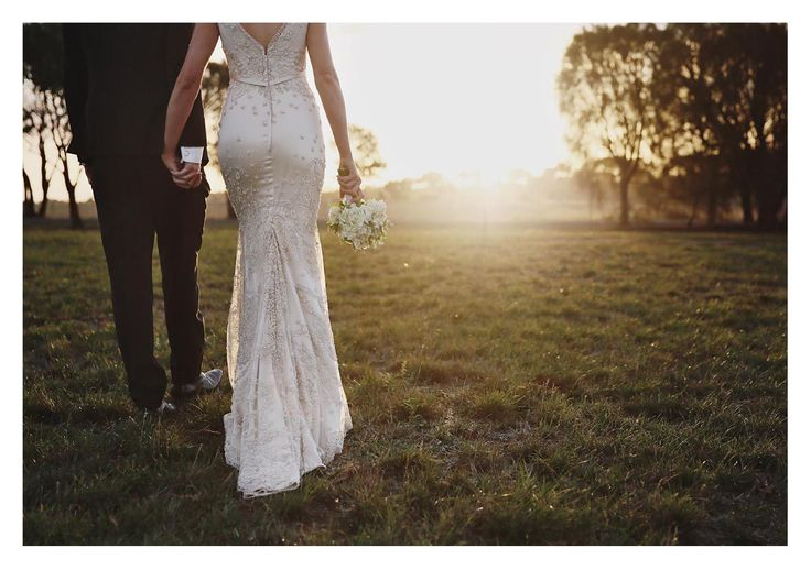 Classic details / real bride Karyn wearing custom Rose Zurzolo Couture