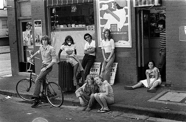 The Gang, Windsor, Melbourne, Victoria, Australia, 1976, photograph by Rennie Ellis.