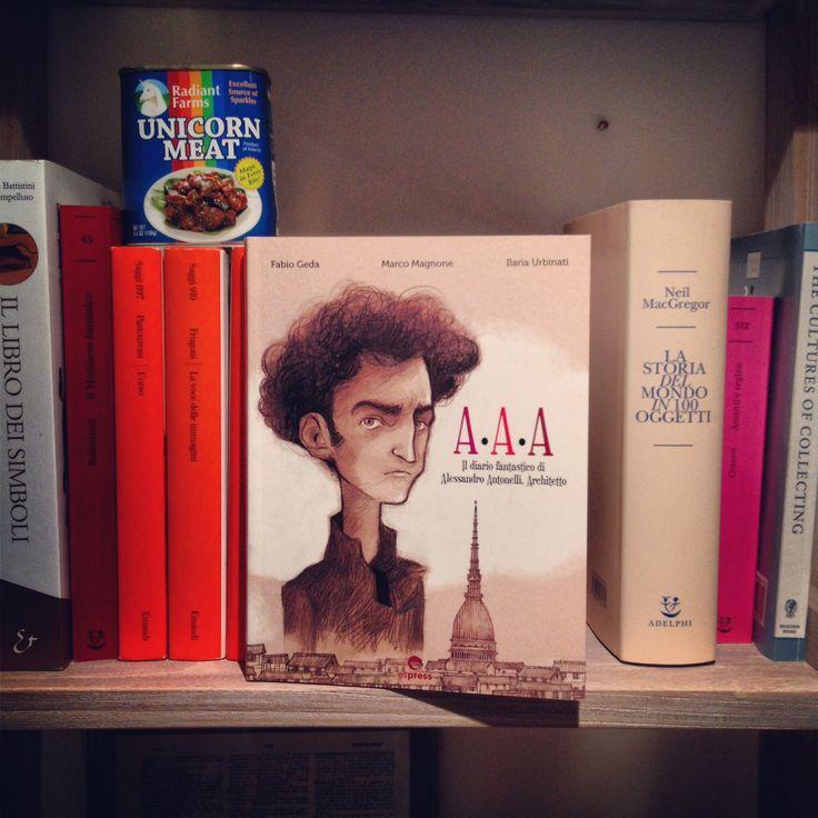 Tegamini-recensione! > A.A.A. – Il diario fantastico di Alessandro Antonelli, Architetto (Fabio Geda, Marco Magnone e Ilaria Urbinati)
