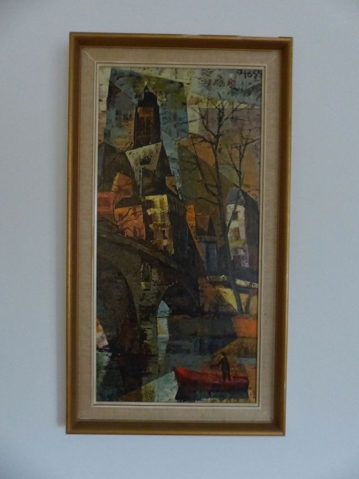 Olivier Foss Eglise St Gervais Framed Retro Print In Art