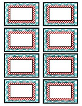 This product features 6 different, but coordinating, label sets. The file is delivered as a PDF (if you are looking for an editable version of these labels check out my editable listing here: http://www.teacherspayteachers.com/Product/Dr-Seuss-Inspired-Labels-Editable-749411).   I plan to use these labels for book bins, name tags, and/or flash cards, but the possibilities are endless!