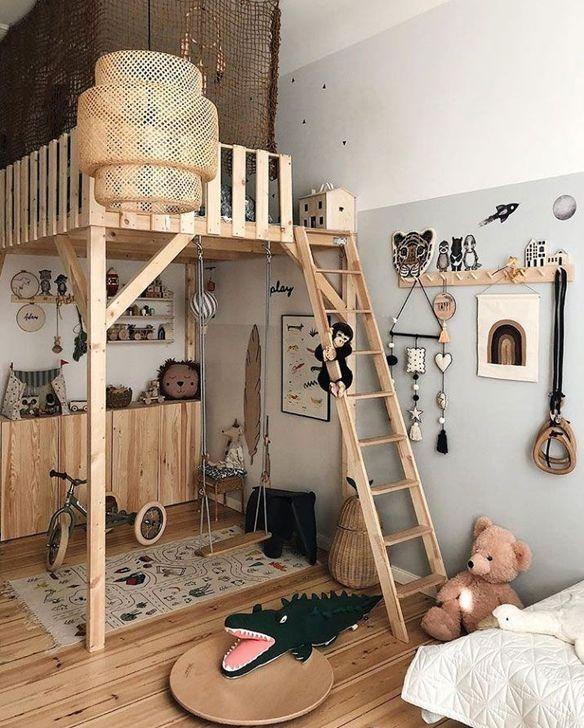 20+ Elegant Scandinavian Themes For Kids Room Design Ideas