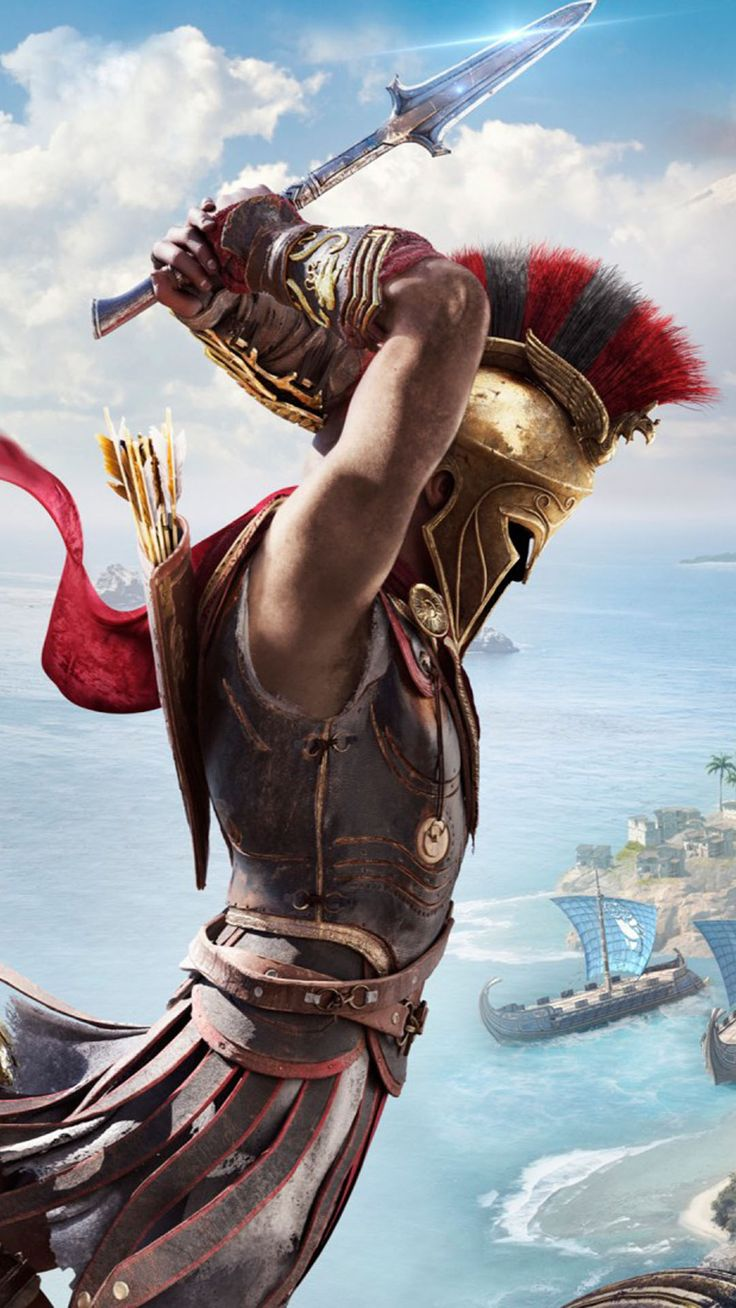 Assassin's Creed Odyssey Free 4K Ultra HD Mobile Wallpaper