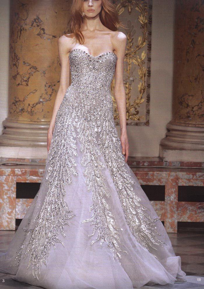 Zuhair Murad Haute Couture gown.