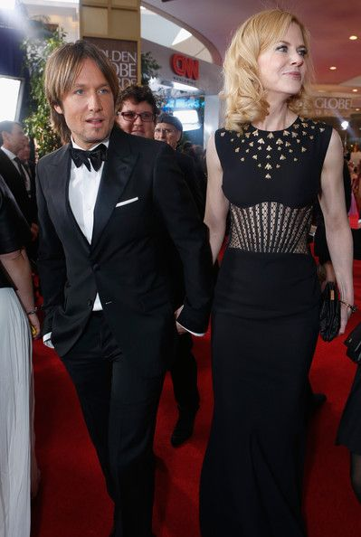 Nicole Kidman In Smartwater At The Golden Globes Red