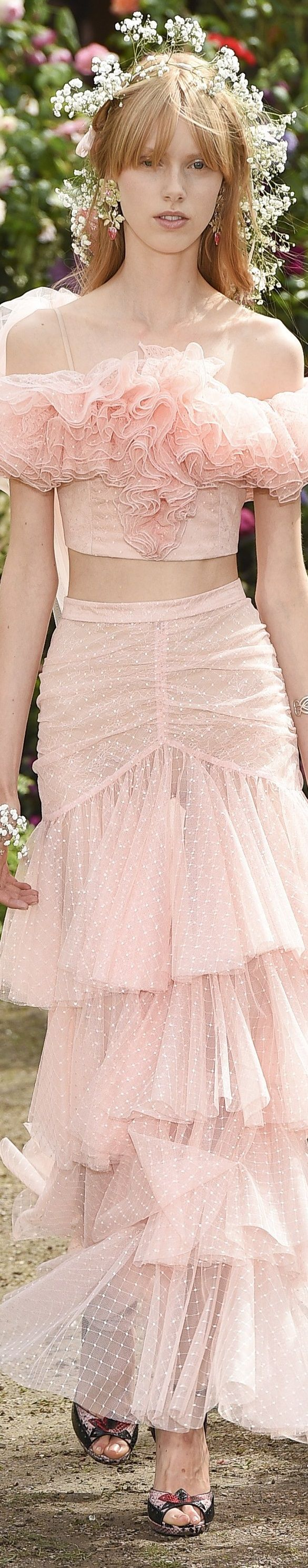 don't love the amount of ruffle up top but really like the skirt(Rodarte)