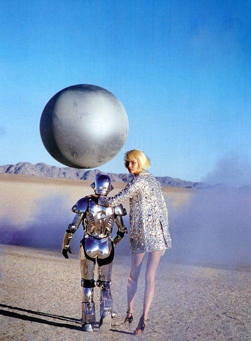 robot, sci-fi, futuristic fashion, space, model, science fiction