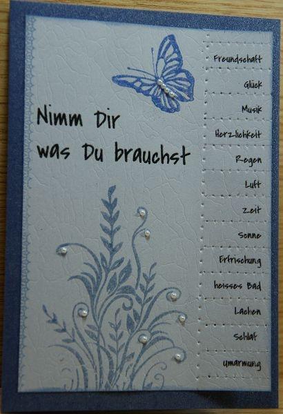 Ankes Bastelkram: Abreißzettel - Nimm dir was du brauchst...