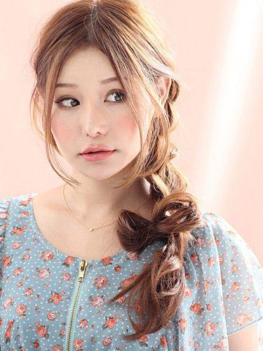 スイートなレディースに人気のヘアスタイル♬真似したい髪型。カット・アレンジ☆