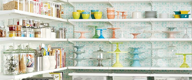 20 Perfect Pantry Ideas via @somewhatsimple