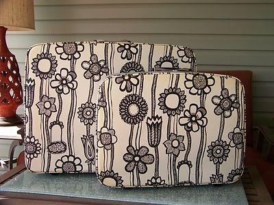 vintage marimekko samsonite luggage