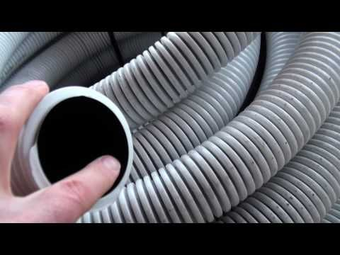 Passive House in the Woods Ventilation System - YouTube