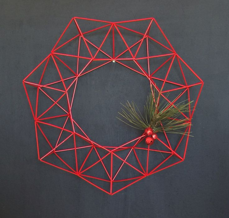 Festive Himmeli Wreath - for sale on Etsy by ModLode https://www.etsy.com/listing/259051271/festive-himmeli-wreath-large-20x20?ga_order=most_relevant&ga_search_type=all&ga_view_type=gallery&ga_search_query=festive%20himmeli&ref=sr_gallery_3