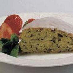 Courgette/squash-kage opskrift