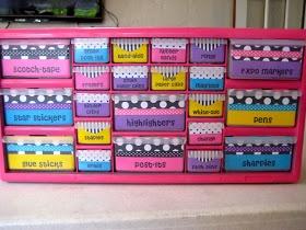 Awesome teacher tool kit DIY