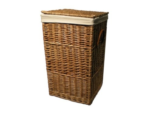 12 best the perfect laundry room images on pinterest - Rattan laundry basket with lid ...