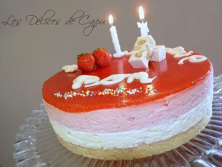 17 meilleures images propos de dessert aux fraises sur for Miroir aux fraises