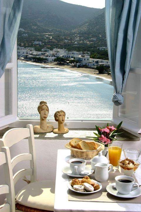 Morning coffee in Sifnos - elladaa
