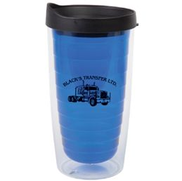 ESP Promo-The Linear- 15oz double walled acrylic tumbler Non-spill push on lid with thumb slide Good for hot and cold beverages http://www.creatchmanpromo.ca/