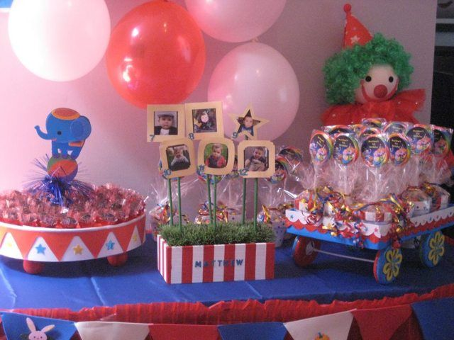 Circus Birthday Party Ideas | Photo 1 of 22 | Catch My