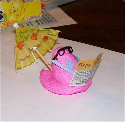 Vacation Peep - marshmallow-peeps Photo: Easter Peep, Photos, Photo Expressyourpeepsonality, Marshmallow Peeps Photo, Vacationing Peeps, Vacations, Disney Vacation, Craft Ideas, Vacation Peep
