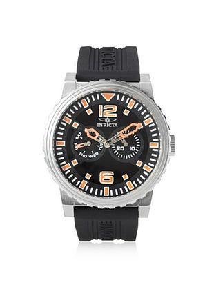 85% OFF Invicta Men's 13642 Specialty Black Polyurethane Watch