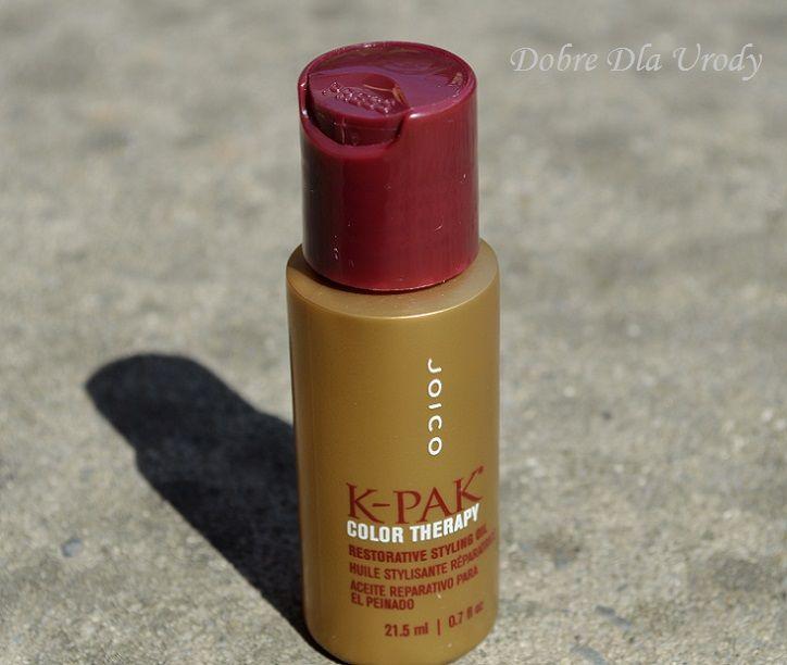 Dobre Dla Urody: Joico K-Pak Color Therapy - kolor włosów na dłużej! #joico #k-pak color therapy #olejek
