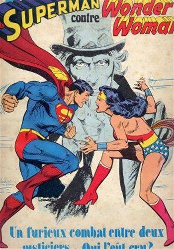 Collection Présence de l_avenir Superman contre Wonder Woman est un album de bande dessinée ou comics, édité par les éditions SAGEDITION - Comics-France.com