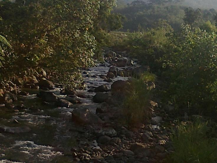 the river in ujung pulau