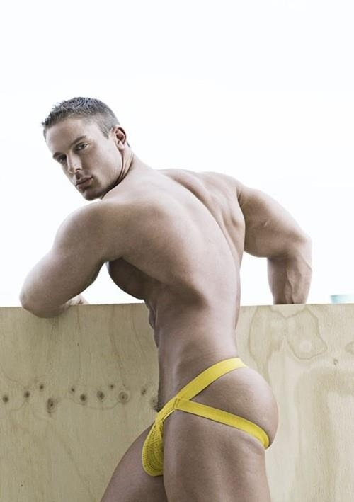 image Boy jock strap too small gay tyler is