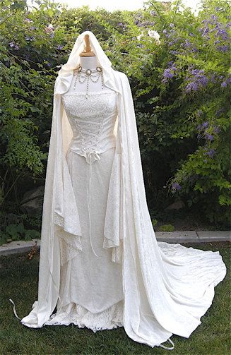 Renaissance, hand fasting, medieval wedding dress p.s. most popular dress on my page ? :)