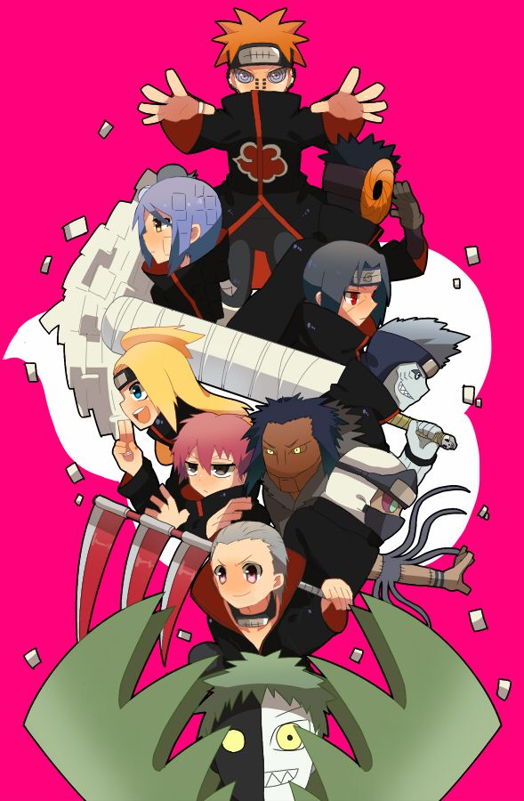 41 best Naruto Shippuden Akatsuki Chibi images on ...