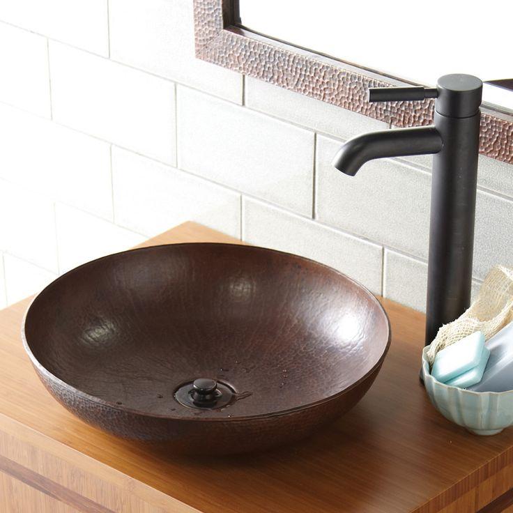 Maestro Sonata Petit Copper Bath Sink