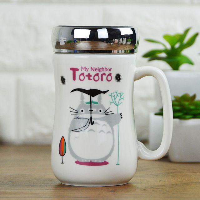 500ml Cute Totoro Mug 4 Design In 2020 Mugs Totoro