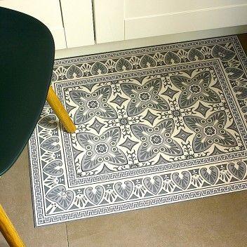 les 25 meilleures id es de la cat gorie tapis vinyl sur pinterest vinyle carreaux de ciment. Black Bedroom Furniture Sets. Home Design Ideas