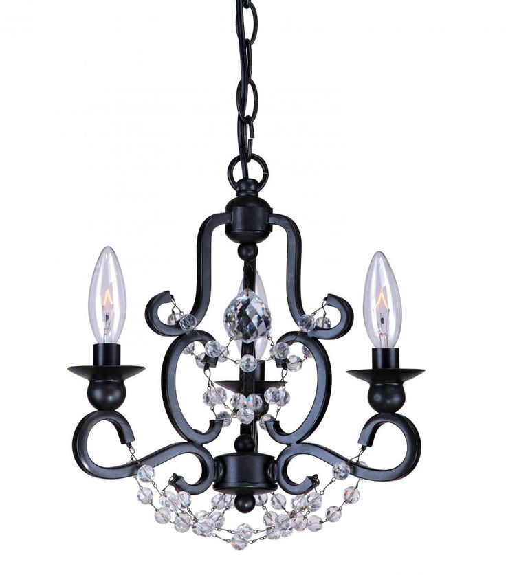 14 best black chandeliers images on pinterest black chandelier orleans style black mini chandelier dulles electric supply corp aloadofball Choice Image