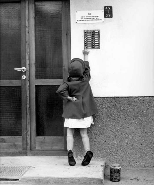 When the Hungarian uprising erupted in 1956, UNHCR faced its first post-war emergency, coordinating help for more than 200,000 people who fled that country. Some refugees remained in Austria where UNHCR funded housing projects like the one above. ©UNHCR/D.Whitney