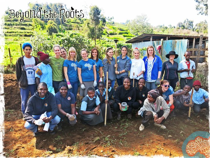 Our wonderful #BeyondtheRoots volunteer team in Kenya! This group of volunteers helped us build a garden at a special needs school as part of an initiative that saw 10 food gardens created in 10 communities on July 18th.   Learn more about our projects in Kenya: http://www.africanimpact.com/africa/kenya.php